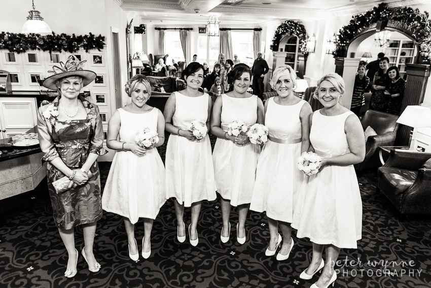 Bridesmaids at Carden Park
