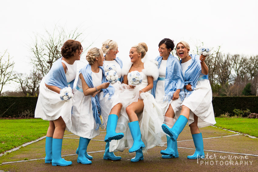 Bride & Bridemaids fun