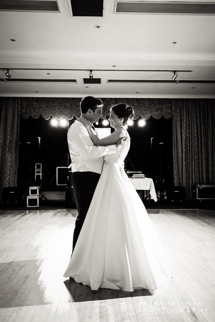 First dance at Bryn Howel