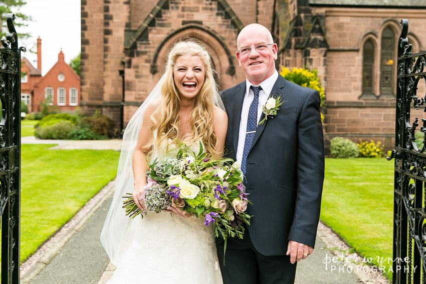 Grosvenor Pulford Wedding photographer