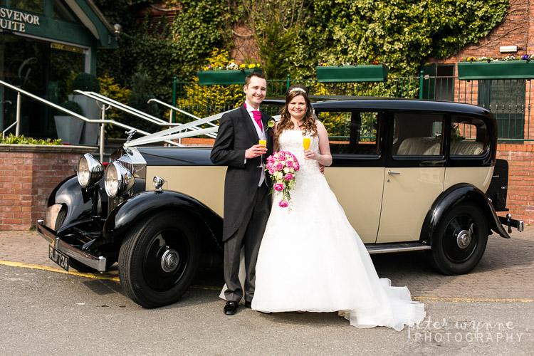 grosvenor pulford wedding car