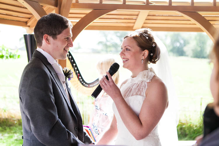 The Oriel Wedding ceremony
