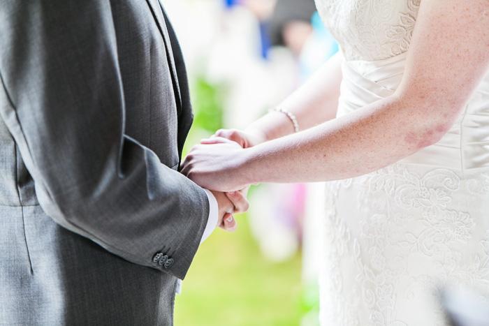 Trevor Villa Barn Wedding Ceremony