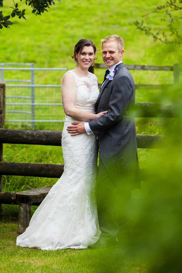 Bride & Groom Wedding Portrait