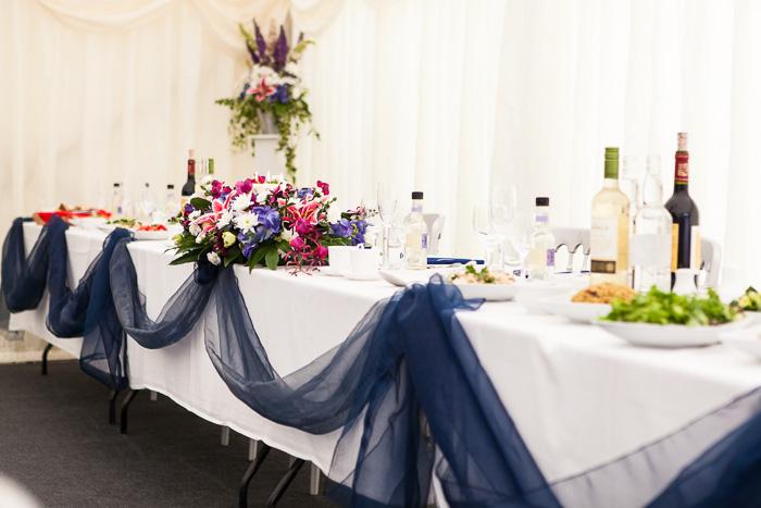 Trevor Villa Barn Reception