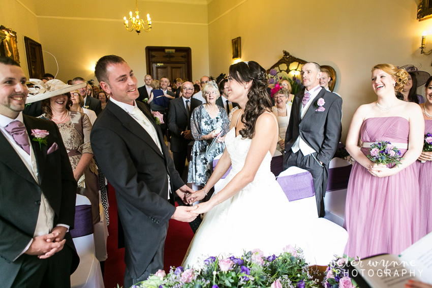 ruthin castle wedding ceremony