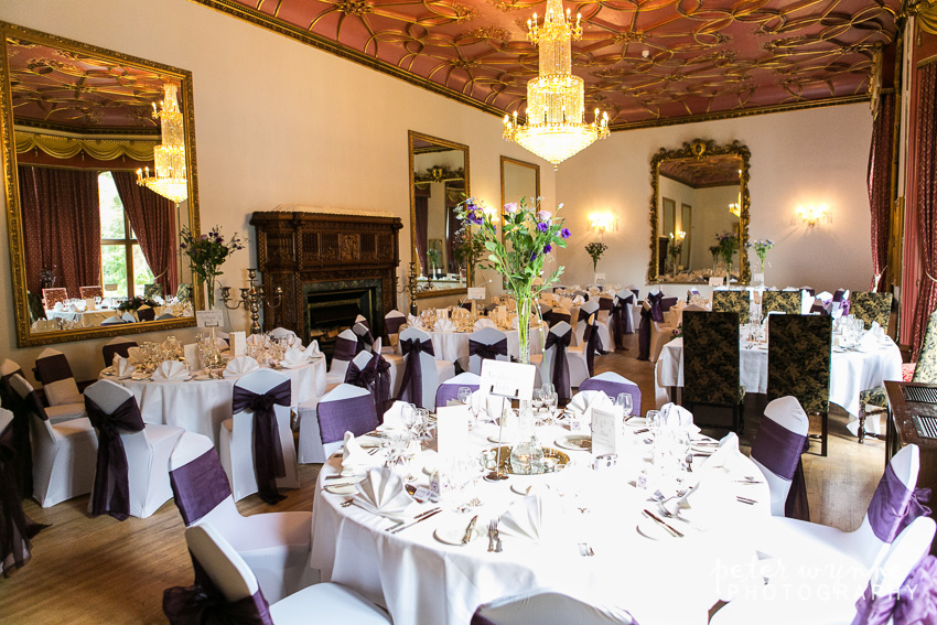 ruthin castle wedding reception