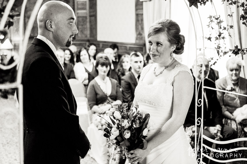Leasowe Castle Wedding ceremony