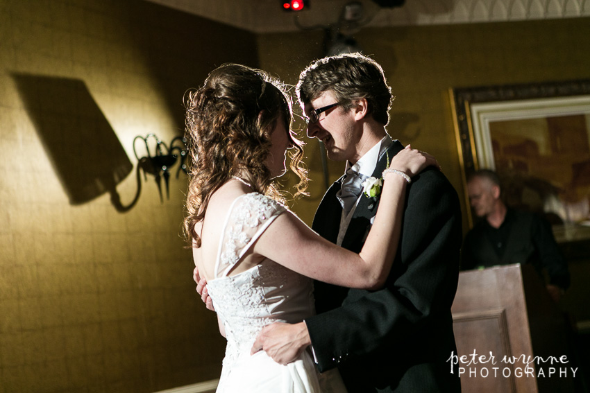 first dance at Llyndir hall