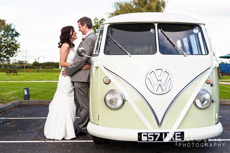 Bride Groom & Camper Van