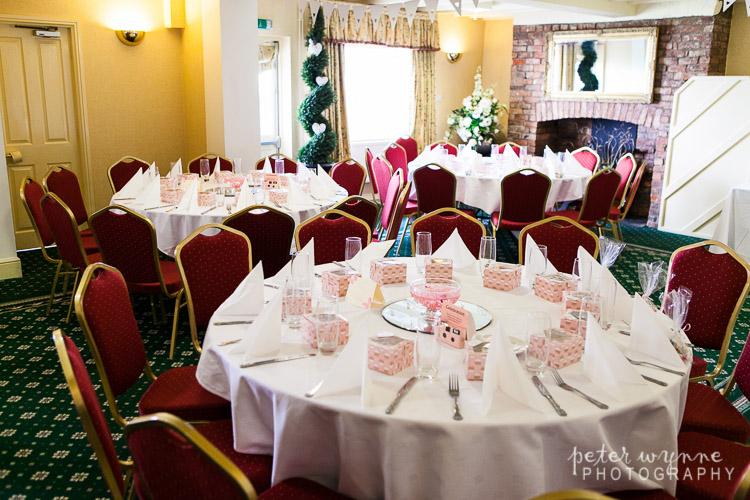 Holt Lodge reception