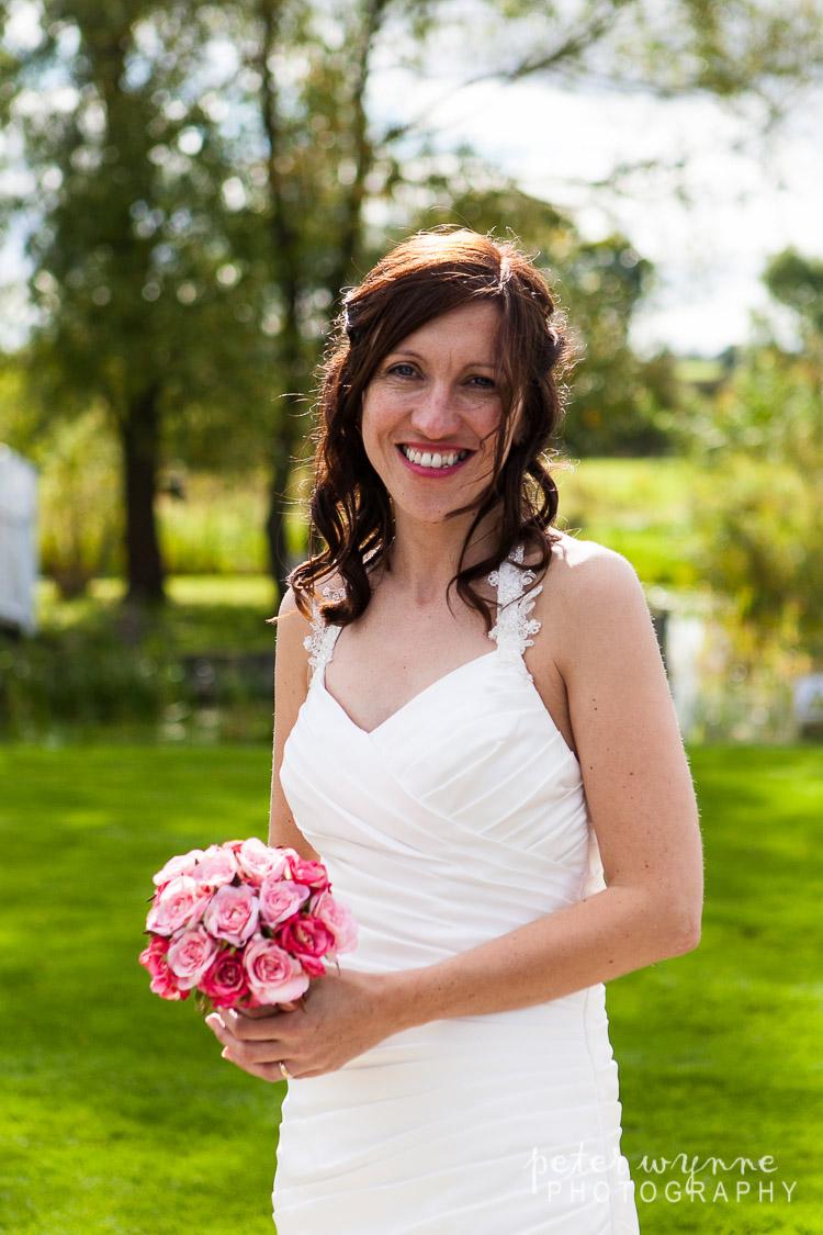 Bride at Holt Lodge