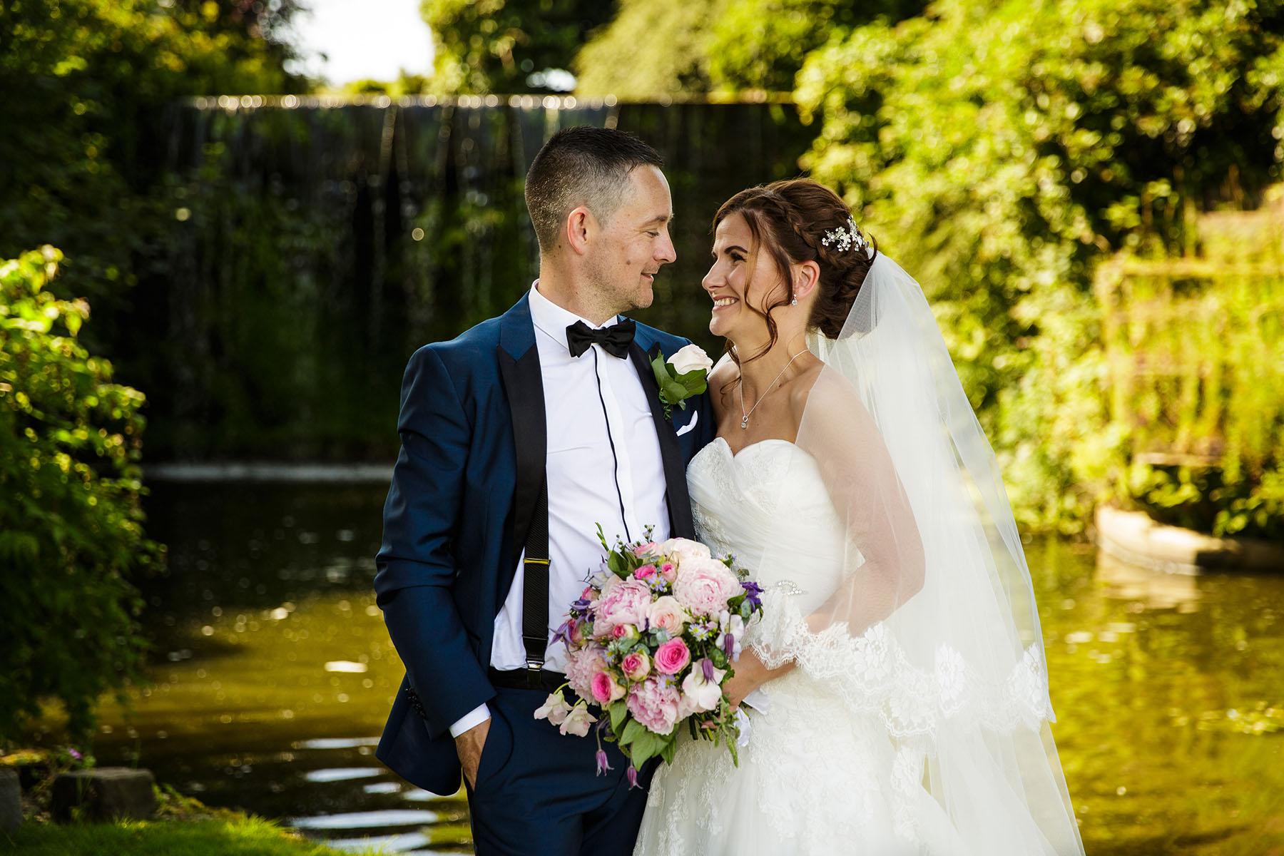 Portal Hotel bridal portrait